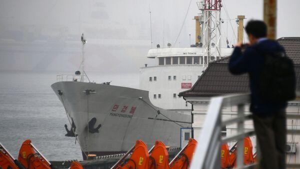 Viaje al país más hermético del mundo: el primer ferri llega a Rusia desde Corea del Norte - Sputnik Mundo