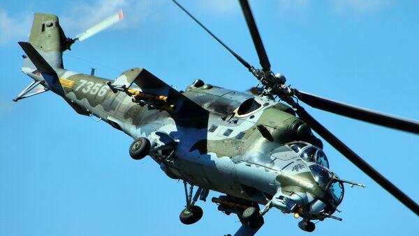 Un Mil Mi-24 - Sputnik Mundo