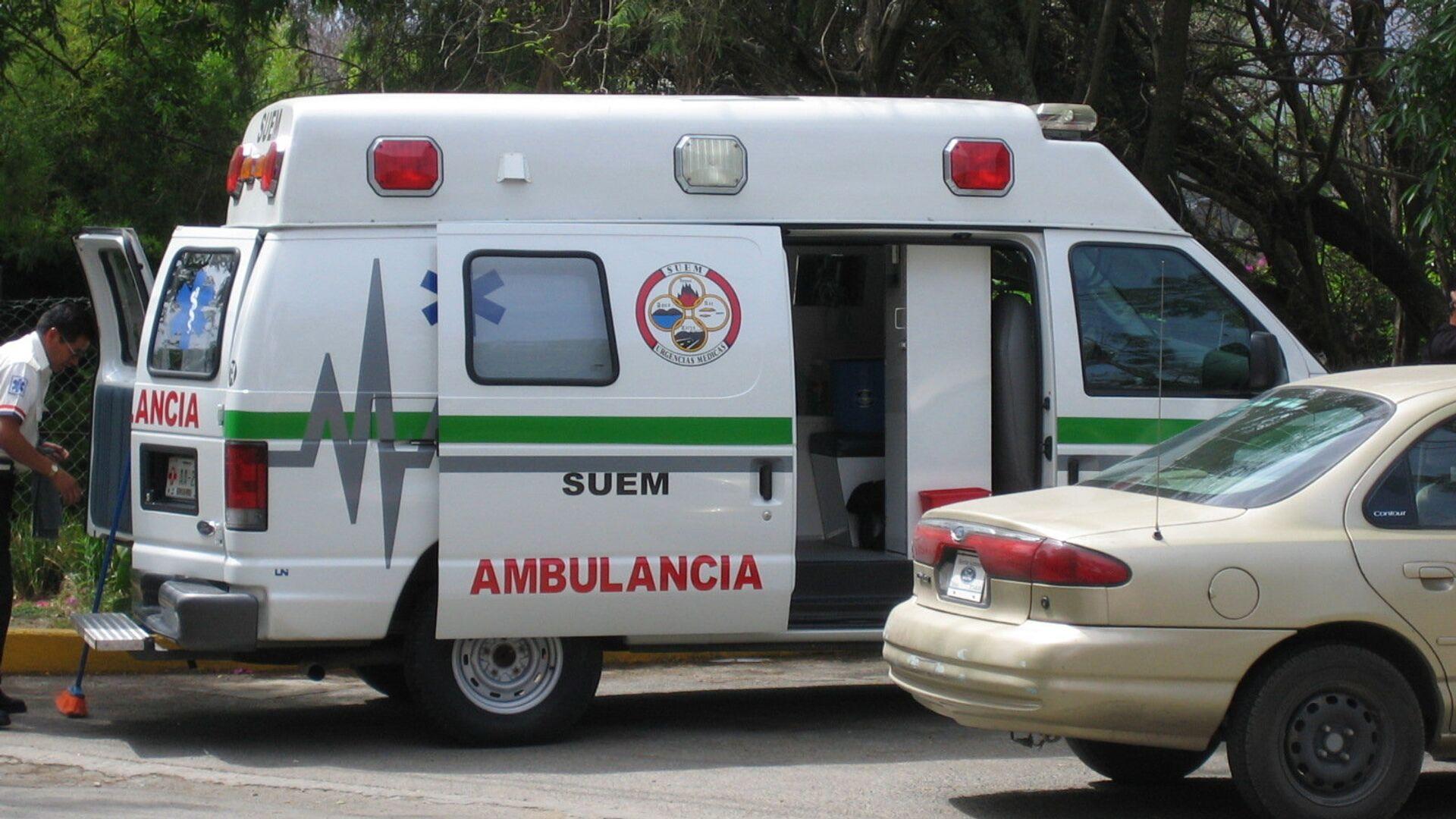 Ambulancia mexicana (archivo) - Sputnik Mundo, 1920, 16.08.2021
