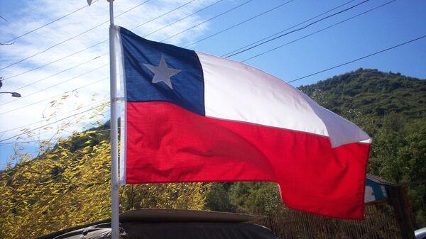 Bandera de Chile - Sputnik Mundo