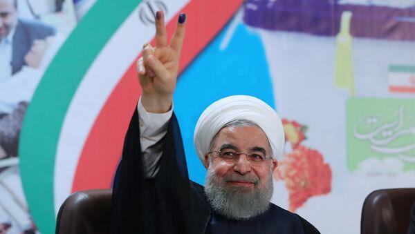 Hasán Rohaní, presidente reelegido de Irán - Sputnik Mundo
