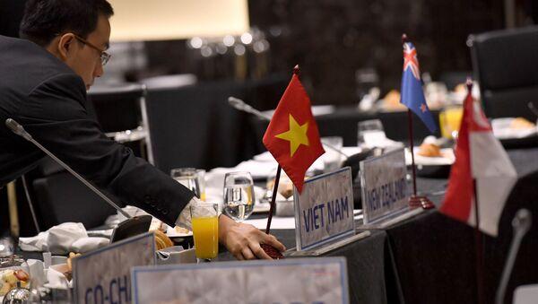 Encuentro de los países signatarios de TPP (archivo) - Sputnik Mundo