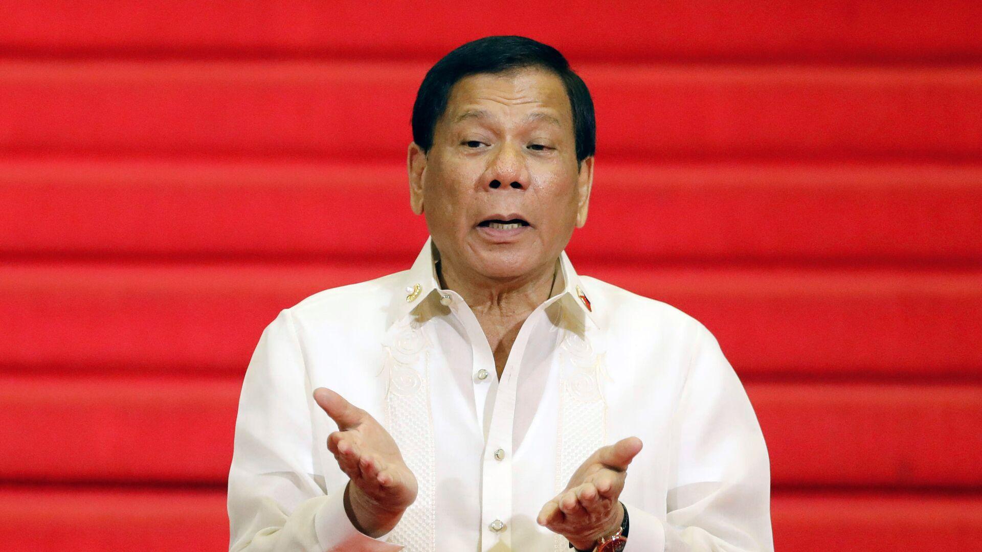 Rodrigo Duterte, presidente de Filipinas - Sputnik Mundo, 1920, 03.10.2021