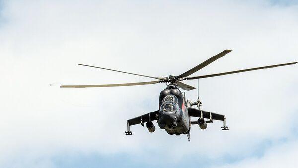 El helicóptero ruso Mi-24 - Sputnik Mundo