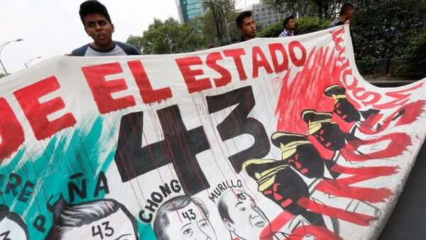 Una manifestación en la Ciudad de México (archivo) - Sputnik Mundo