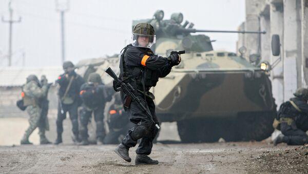 Ejercicios antiterroristas de FSB (archivo) - Sputnik Mundo