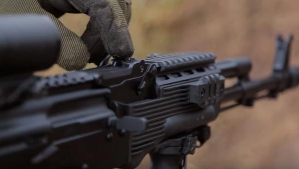 Kalashnikov presenta fusil modernizado AK-74 - Sputnik Mundo