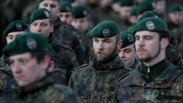 Soldados alemanes - Sputnik Mundo
