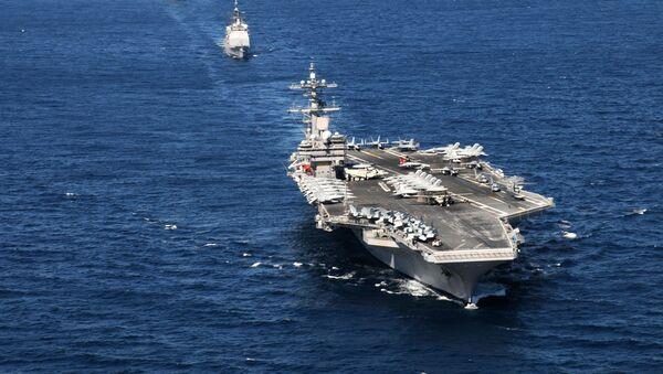 Portaviones USS George Bush - Sputnik Mundo