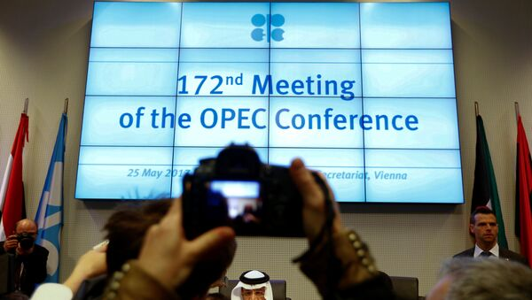 La cumbre de la OPEC en Viena - Sputnik Mundo