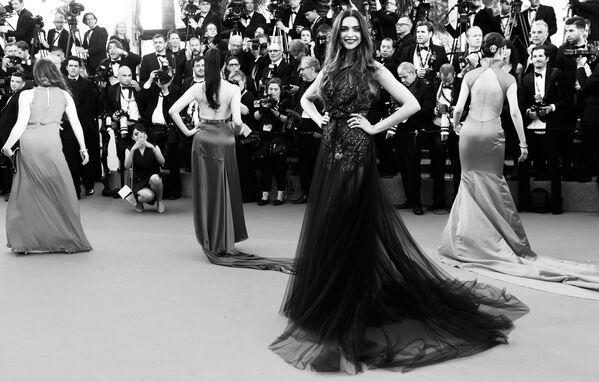 Las estrellas de la belleza: una mirada en blanco y negro al Festival de Cannes - Sputnik Mundo