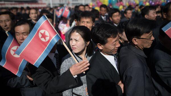 Ciudadanos de Corea del Norte - Sputnik Mundo
