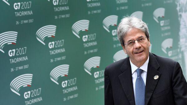 Paolo Gentiloni, primer ministro de Italia - Sputnik Mundo