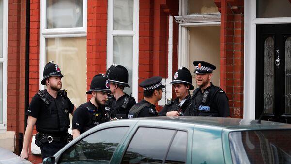 Policía del Reino Unido - Sputnik Mundo