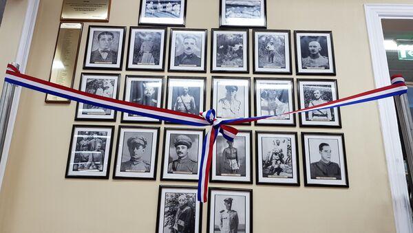 Muestra de fotos de rusos voluntarios en la Guerra del Chaco - Sputnik Mundo