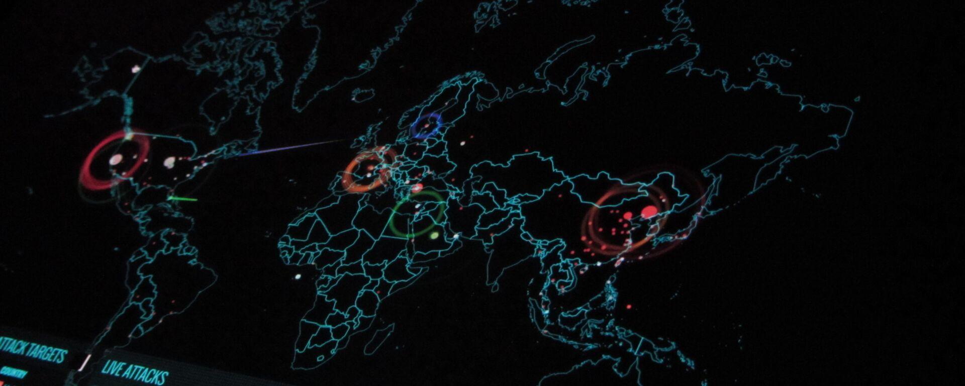 Ciberataque (imagen referencial) - Sputnik Mundo, 1920, 29.09.2021