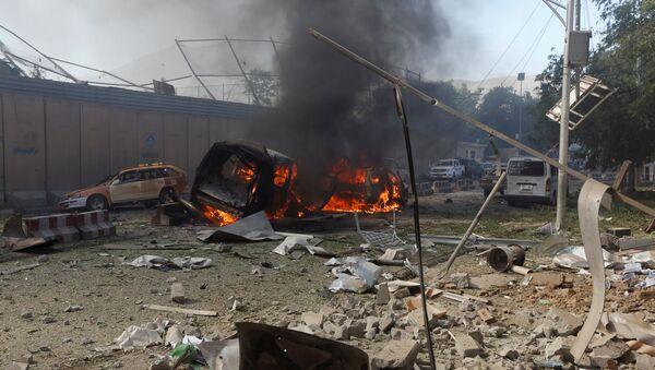 La situación en Kabul, Afganistán, tras la explosión el 31 de mayo - Sputnik Mundo