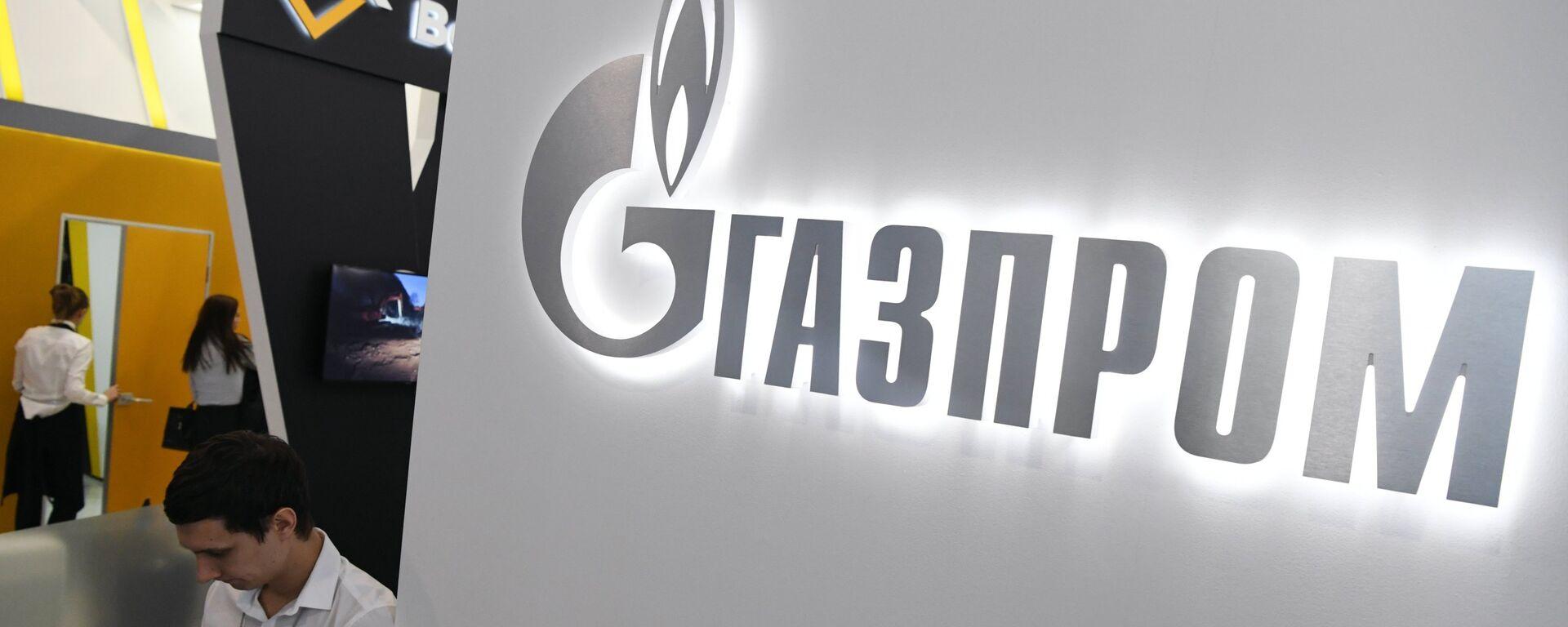 Logo de Gazprom - Sputnik Mundo, 1920, 28.09.2021