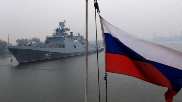La fragata Almirante Essen - Sputnik Mundo