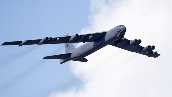 El B-52 Stratofortress (archivo) - Sputnik Mundo