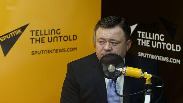 El director general del Centro de Exportaciones de Rusia, Piotr Fradkov - Sputnik Mundo