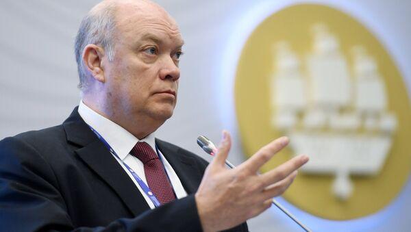 Rodrigo Malmierca Díaz, ministro de Comercio Exterior e Inversión Extranjera de Cuba - Sputnik Mundo