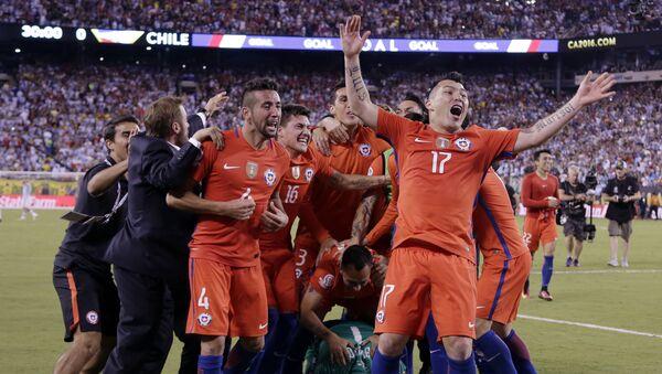 Selección de fútbol de Chile - Sputnik Mundo