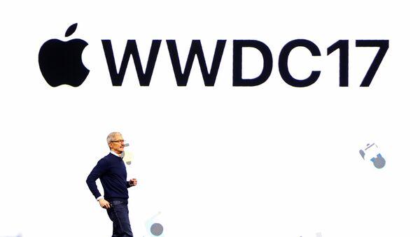 Tim Cook durante WWDC17 - Sputnik Mundo