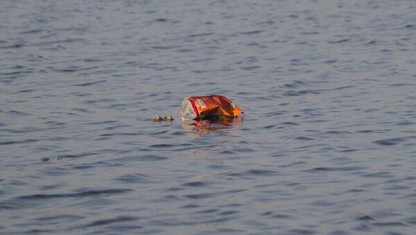 Basura en océano - Sputnik Mundo