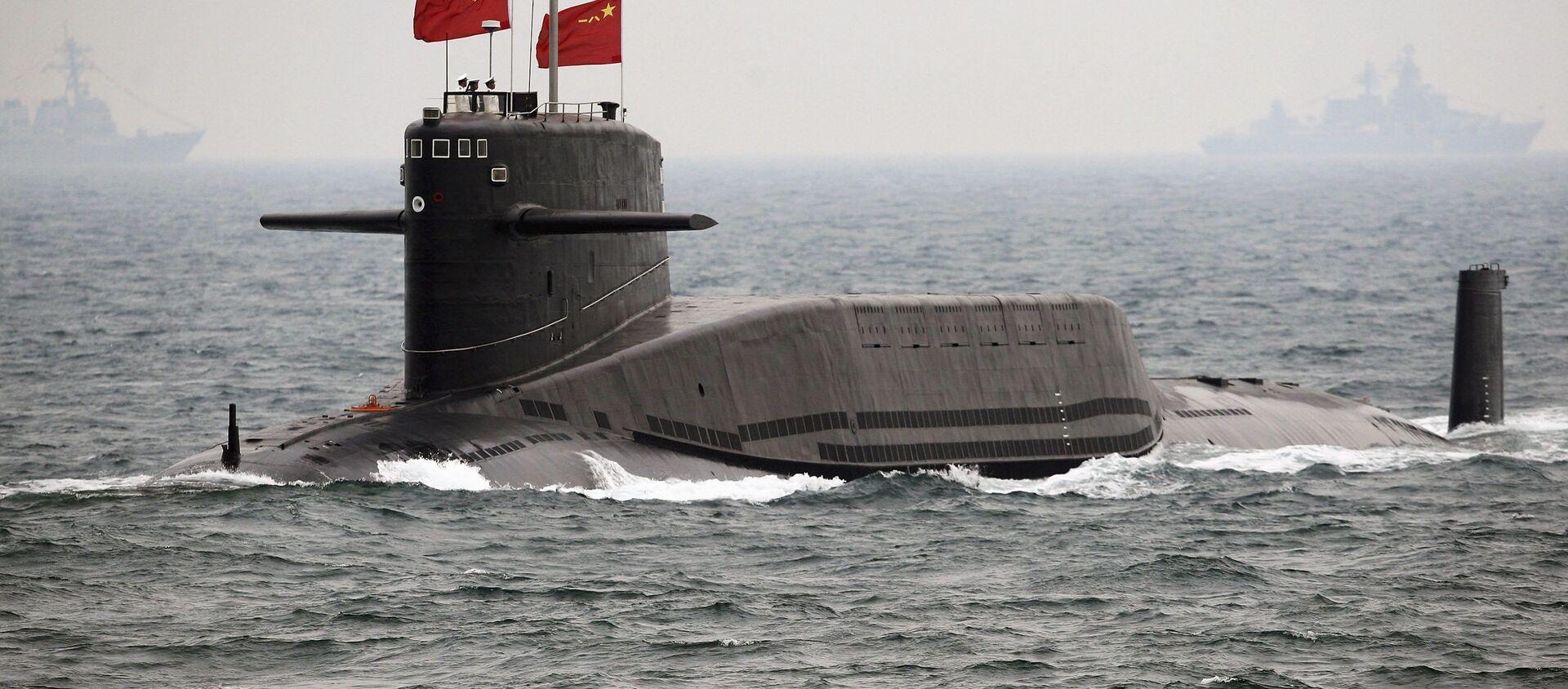 Submarino chino - Sputnik Mundo, 1920, 16.11.2020