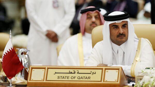 Tamim bin Hamad Thani, emir de Catar (archivo) - Sputnik Mundo
