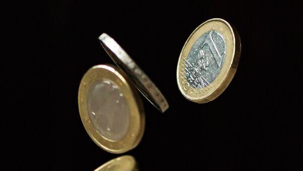 Monedas de euro (imagen referencial) - Sputnik Mundo