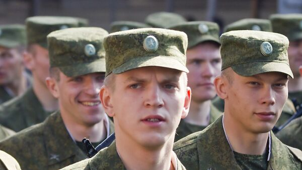 El soldado ruso - Sputnik Mundo