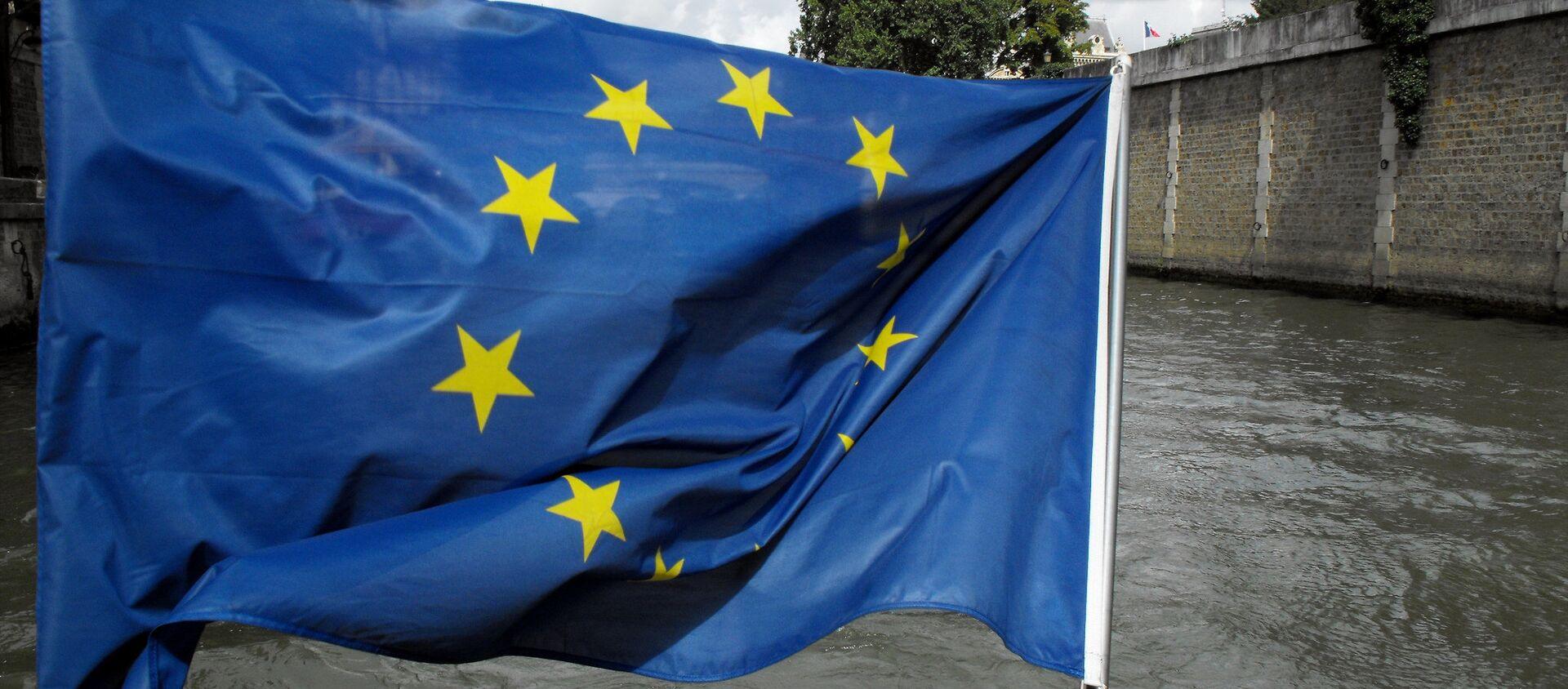 Bandera de la Unión Europea  - Sputnik Mundo, 1920, 26.01.2021