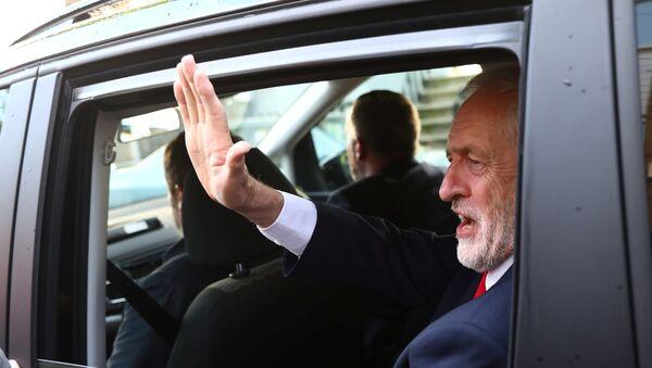 Jeremy Corbyn, líder del Partido Laborista (archivo) - Sputnik Mundo