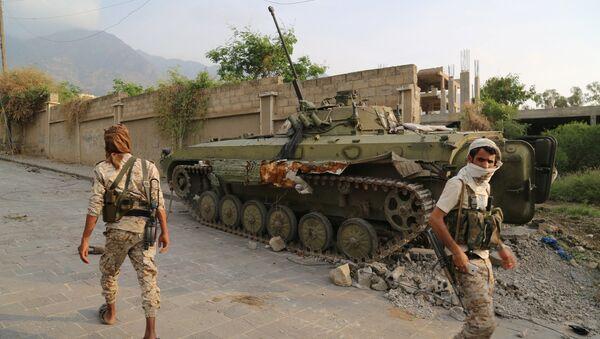 Los militares de Yemen - Sputnik Mundo