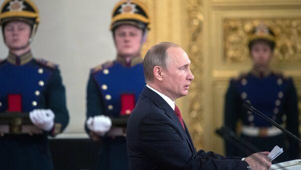 Presidente de Rusia Vladímir Putin - Sputnik Mundo