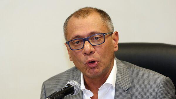 Jorge Glas, vicepresidente de Ecuador - Sputnik Mundo
