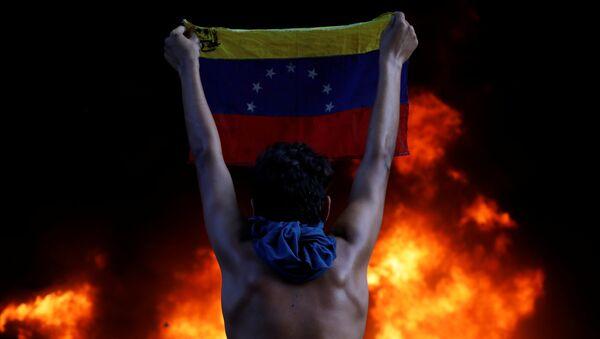 Protestas en Venezuela (archivo) - Sputnik Mundo