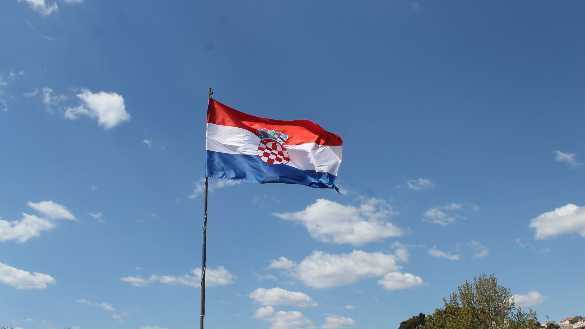 Bandera de Croacia  - Sputnik Mundo, 1920, 31.03.2021