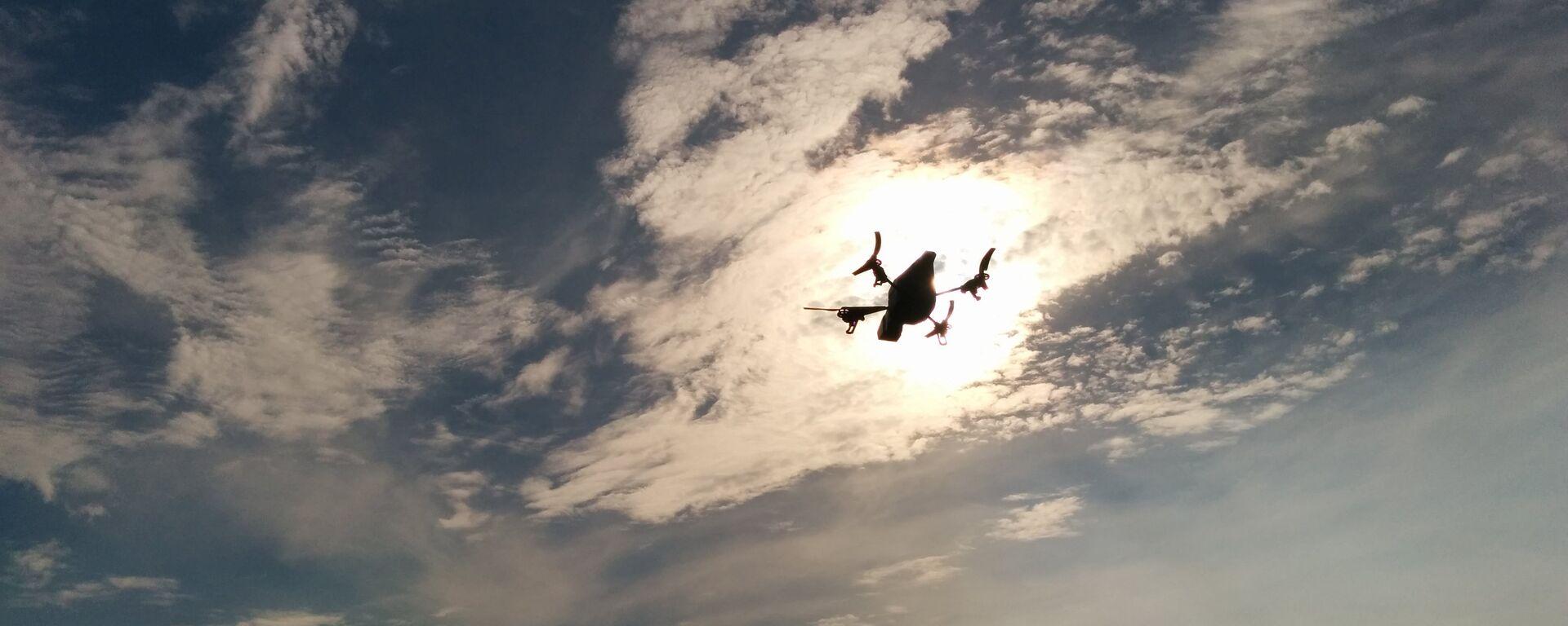 Un dron (imagen referencial) - Sputnik Mundo, 1920, 26.03.2021