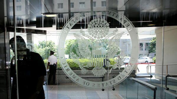 Emblema del Departamento de Estado - Sputnik Mundo