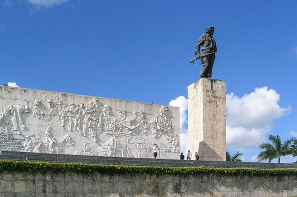 Mausoleo de Ernesto 'Che' Guevara en Santa Clara, Cuba.  - Sputnik Mundo