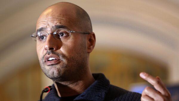 Saif al-Islam Gadafi, hijo del exlíder libio Muamar Gadafi (archivo) - Sputnik Mundo