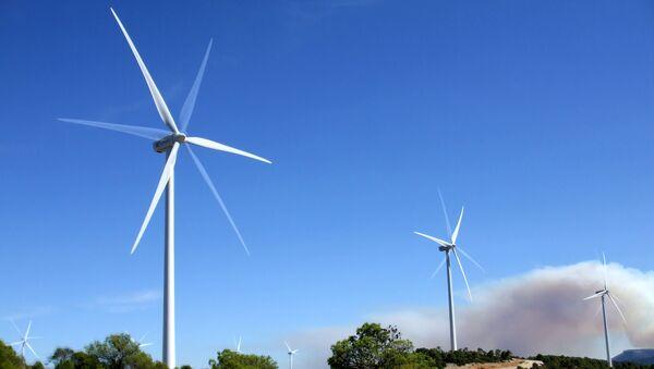 Molinos de viento (imagen referencial) - Sputnik Mundo