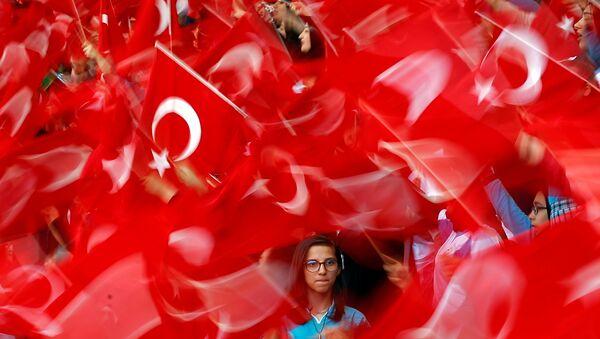 Las banderas de Turquía - Sputnik Mundo