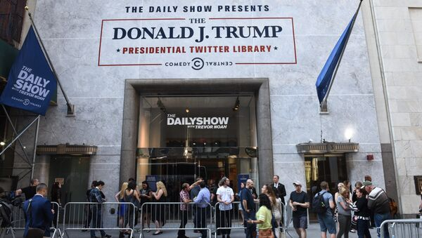 La 'biblioteca presidencial' de los tuits de Trump - Sputnik Mundo