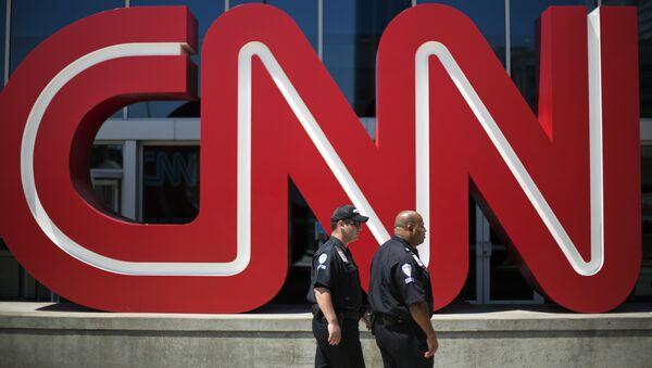 La sede del canal CNN en Atlanta, EEUU - Sputnik Mundo