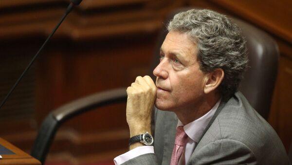 Alfredo Thorne, ministro de Economía y Finanzas de Perú - Sputnik Mundo