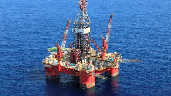 Plataforma petrolífera en Golfo de México - Sputnik Mundo